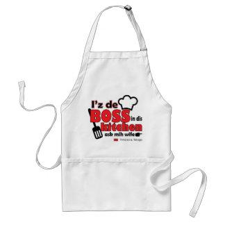 I'z de BOSS in dis Kitchen - Funny & Sexy Standard Apron