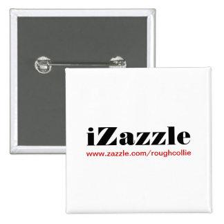 iZazzle custom button to promote your zazzle store