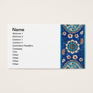 iznik tile Business Card