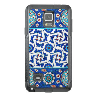 Iznik tile. Turkish floral design OtterBox Samsung Note 4 Case