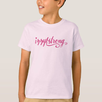 #IzzyBStrong Girls' T-Shirt (Hot Pink)
