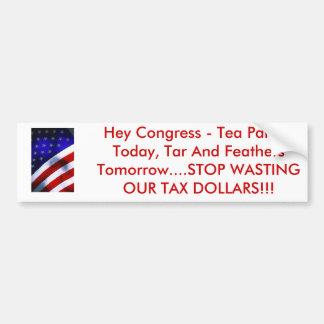 j0400756, Tea Parties Today Bumper Sticker