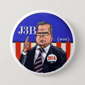 J3B (Bush) 2016 7.5 Cm Round Badge