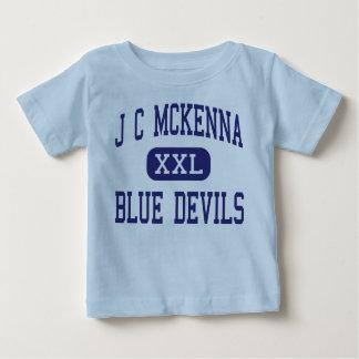 J C McKenna Blue Devils Middle Evansville Shirt