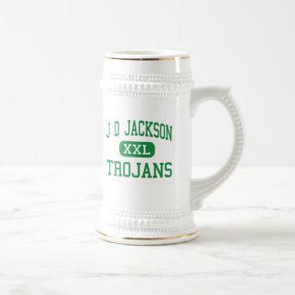 J D Jackson - Trojans - Junior - Cowan Tennessee Coffee Mugs