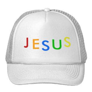 J, E, S, U, S HATS