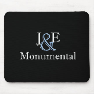 J&E White Mouse Pad