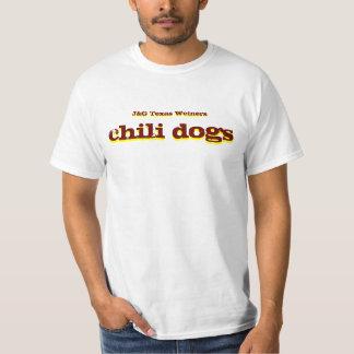 J&G Texas Weiners Chili Dogs shirt