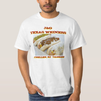 J&G Texas Weiners - Jersey's Best Chili Dogs Tee