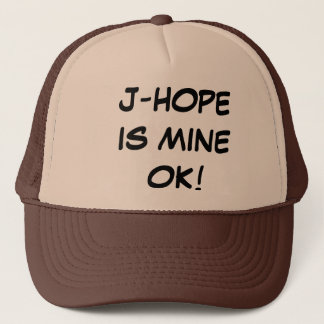 J-HOPE IS MINE TRUCKER HAT