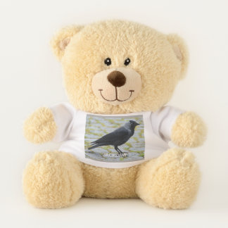 J is for Jackdaw Teddy Bear