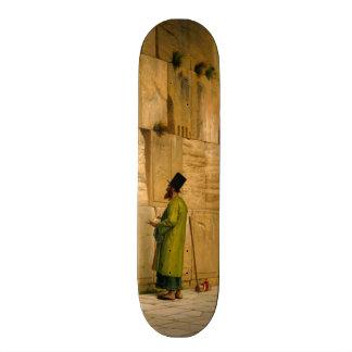 J L Gerome - The Wailing Wall Custom Skateboard