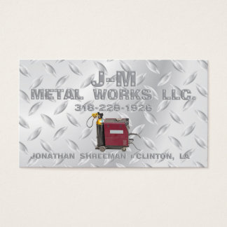 J-M Metal Works Business Card