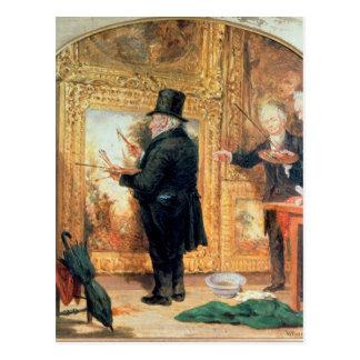 J. M. W.Turner  at the Royal Academy Postcard