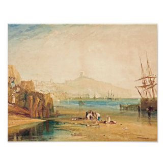J.M.W. Turner - Scarborough Town and Castle Photo