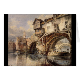 J. M. W. Turner - Welsh Bridge at Shrewsbury Greeting Card