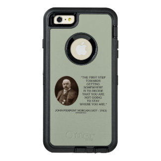 J.P. Morgan First Step Towards Getting Somewhere OtterBox iPhone 6/6s Plus Case