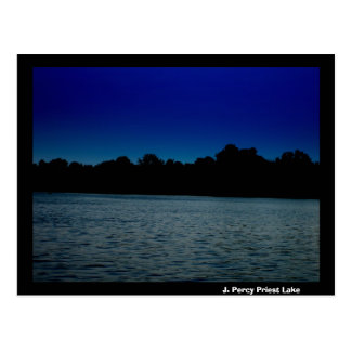 J. Percy Priest Lake at Night Post Cards