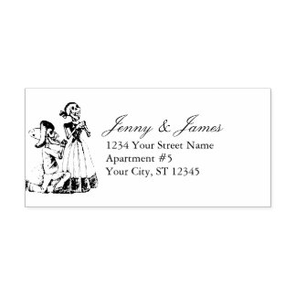 J. Posada Return Address Self-inking Stamp