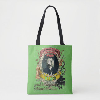 J.S. Baach Funny Sheep Great Animal Composers Bach Tote Bag