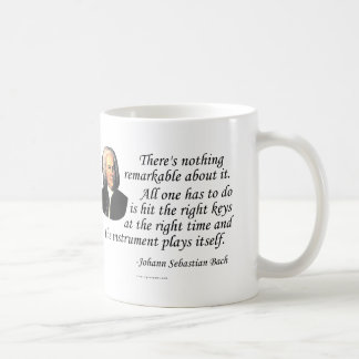 J.S. Bach on Playing Coffee Mug