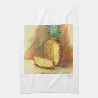 J Spoelstra Pineapple Kitchen Towel