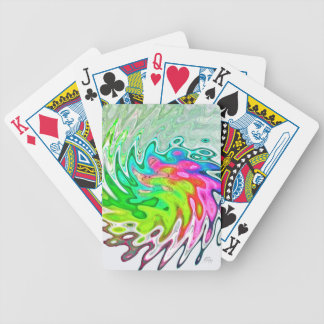 J Spoelstra Vibrant Bicycle Playing Cards