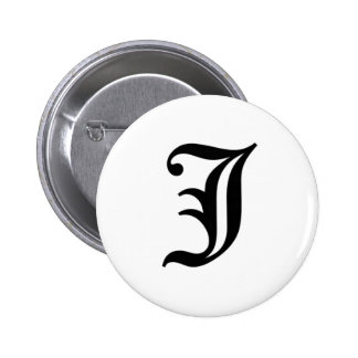 J-text Old English Pins