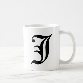 J-text Old English Coffee Mug