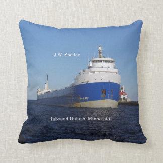 J.W. Shelley square pillow