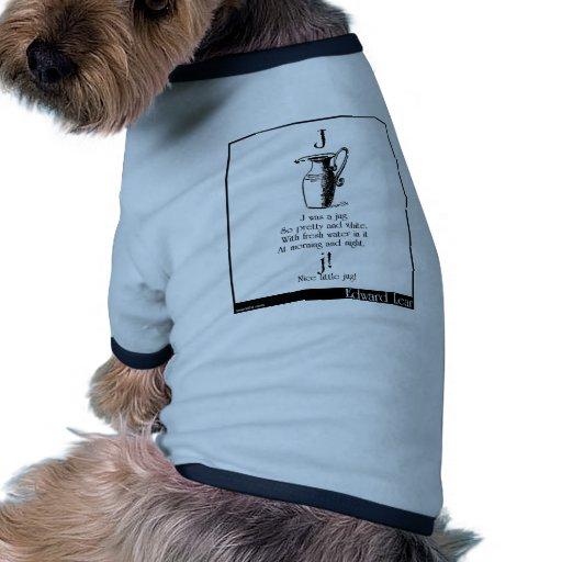 J was a jug dog t shirt
