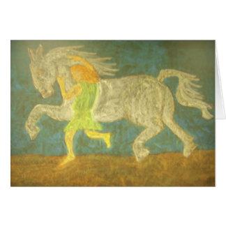 Jabal Tames the Wild Stallion Card