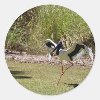 Jabau Northern Territory Bird Round Sticker