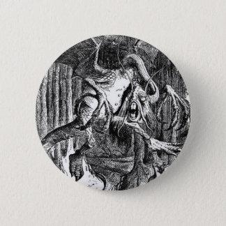 Jabberwocky 6 Cm Round Badge