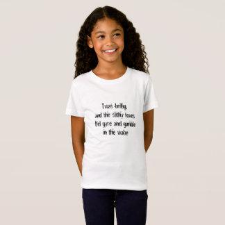 Jabberwocky First Line T-Shirt