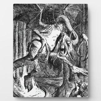 Jabberwocky Plaque