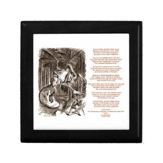 Jabberwocky Poem by Lewis Carroll Gift Box