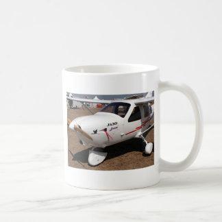 Jabiru ultralight aircraft basic white mug