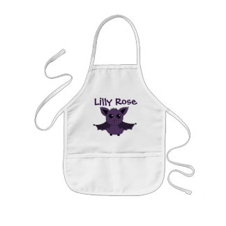 Jac the Bat; A Good day to fly into the kitchen Kids Apron