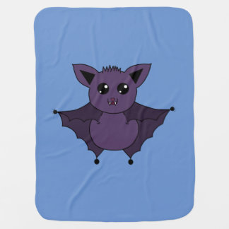 Jac the Bat Flying by night Buggy Blanket