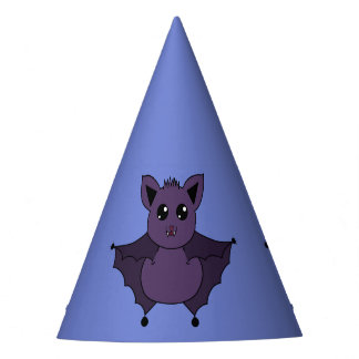 Jac the Bat Flying by night - Party Hat