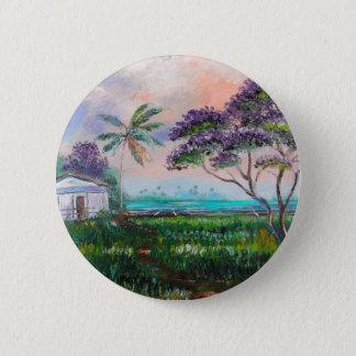 Jacaranda Beach 6 Cm Round Badge
