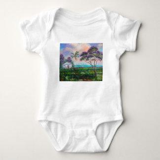 Jacaranda Beach Baby Bodysuit