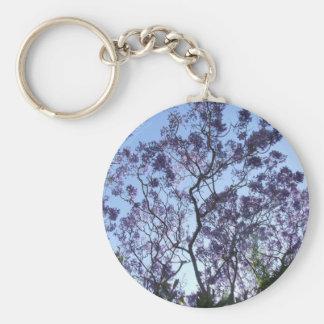 Jacaranda Key Ring Basic Round Button Key Ring