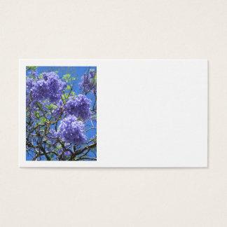 Jacaranda Tree Business Card