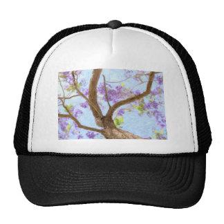 Jacaranda Tree Trucker Hat