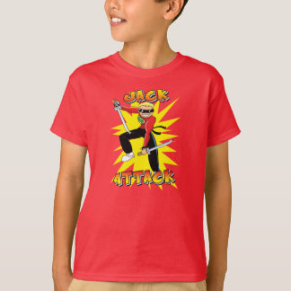 Jack-Attack in action T-Shirt