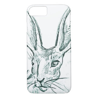 Jack Bunny Sketch iPhone 7 Case