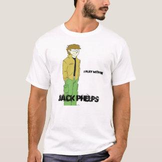 Jack cartoonized, Jack Phelps, i play with fire T-Shirt