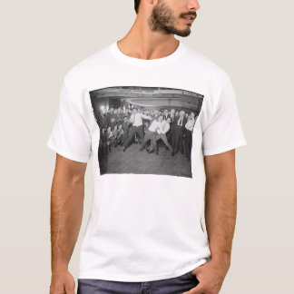 Jack Dempsey Mock Fighting Against Harry Houdini T-Shirt